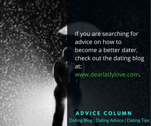 dating advice, advice column, and dating blog image