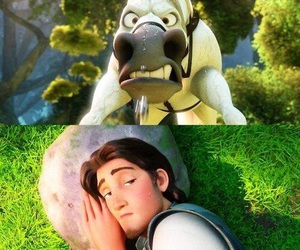tangled, disney, and funny image