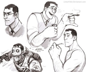 medic, Team Fortress 2, and tf2 image