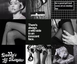 b&w, black, and moodboard image