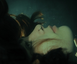girl, piercing, and water image