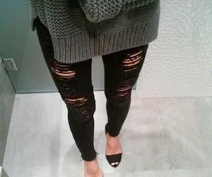 fashion, luxury, and pants image