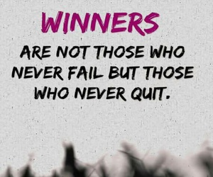 failure, winners, and quit image