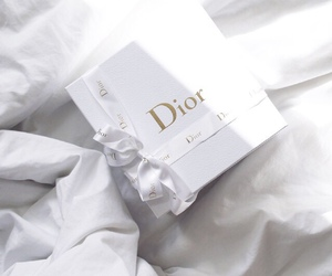 dior, white, and luxury image