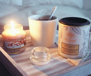 autumn, candle, and comfy image
