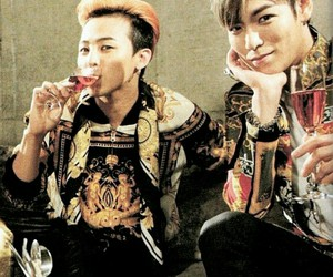 g-dragon, gd, and big bang image