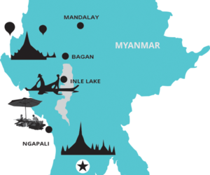 myanmar adventure tours, trekking in burma, and burma adventure tours image