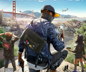 2, video game, and watch dogs image