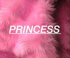 fluffy, pink, and princess image