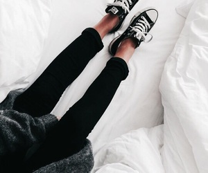 fashion, converse, and girl image