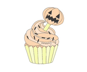 autumn, cupcake, and draw image