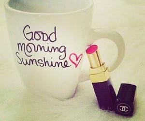 chanel, lipstick, and sunshine image