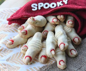Cookies, fingers, and Halloween image