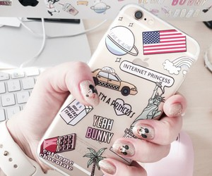 iphone, case, and usa image