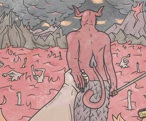 art, Devil, and lol image