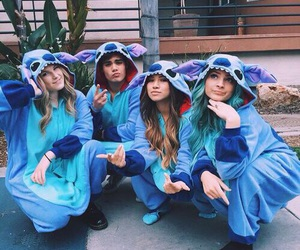 friends, best friends, and stitch image