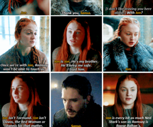tv show, game of thrones, and jon snow image