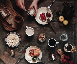 breakfast, food, and hipster image