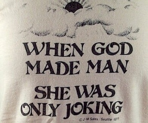god and joking image