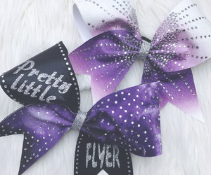 bow, cheer, and cheerleader image