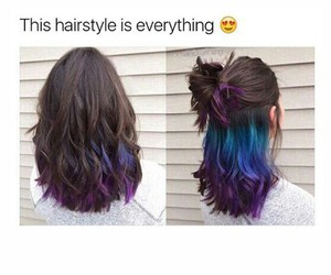 dye, dyed hair, and goals image