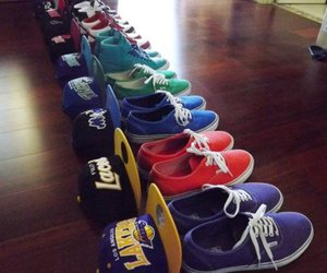 vans, shoes, and swag image