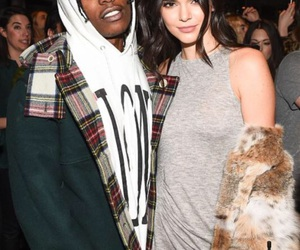 kendall jenner, model, and asap rocky image