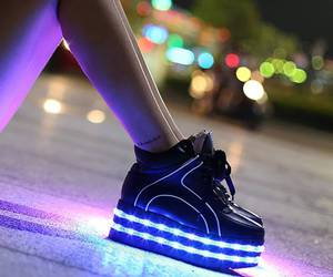 fashion, led shoes, and tall image