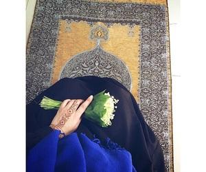 hijab, girl, and islamic image