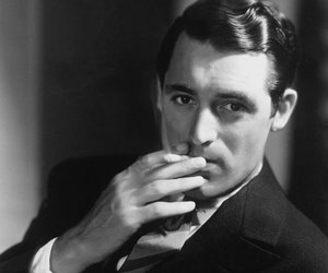 cary grant, black and white, and photography image