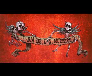 banner, david lozeau, and day of thedead image
