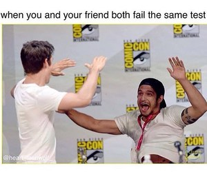 funny and teen wolf image