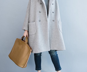 etsy, outerwear, and winter coat image