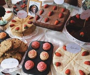 food, cake, and tasty image