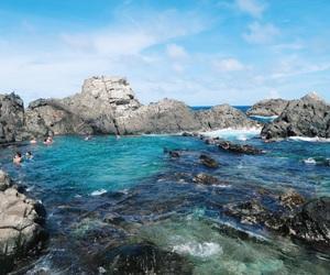 beach, blue, and Caribbean image