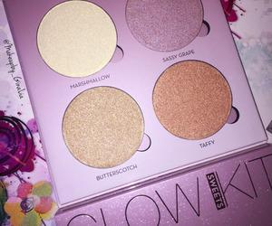 makeup, glow, and cosmetics image