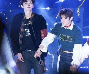 exo, taeyoung, and chanyeol image