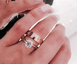 ring, nails, and luxury image