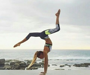 fitness, beach, and sport image