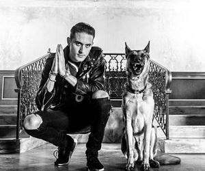 dog, g-eazy, and rapper image