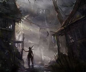 game, lara croft, and tomb raider image