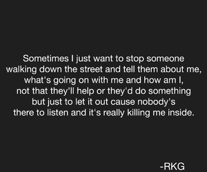 alone, broken, and depress image