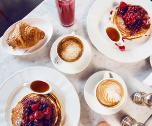 coffee, food, and berries image