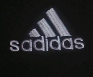 adidas, sadidas, and sad image
