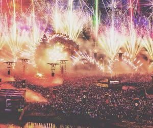 music, festival, and edm image
