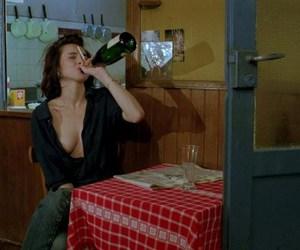 drunk, sad, and alcohol image