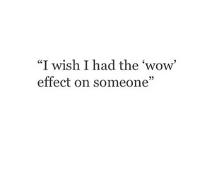 quote, wow, and effect image