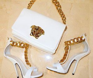 Versace, luxury, and shoes image