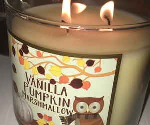 autumn, bbw, and candles image