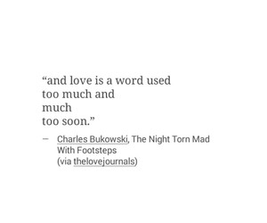 charles bukowski, quotes, and thoughts image